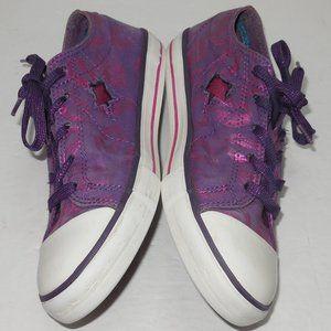 Converse One Star Purple & Pink Lips Canvas Kicks